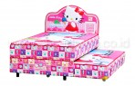 kasur Bigland HELLO KITTY TWIN BED